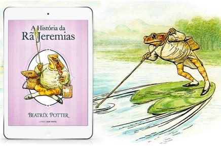 A História da Rã Jeremias e as aventuras de um dia depesca
